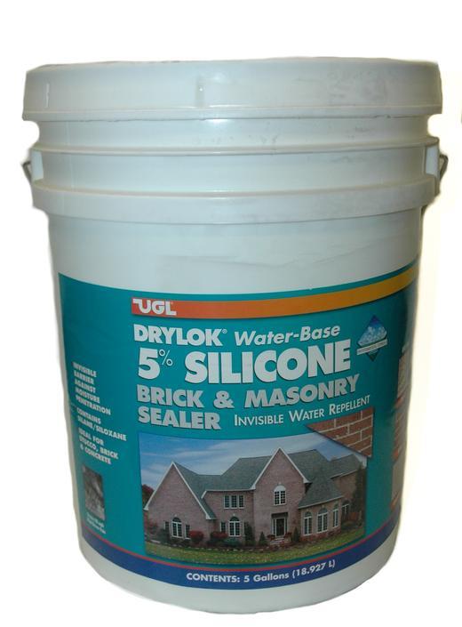 Drylok brick masonry 5 silicone sealer 5 gal - Exterior concrete block finishes ...