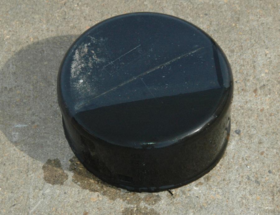 Drain Tile Cap 3'