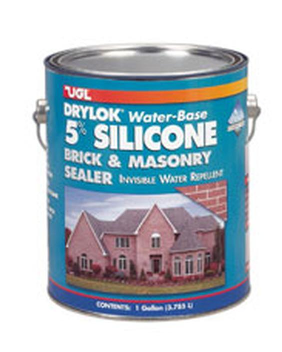Concrete and masonry sealers drylok 5 gallon in sealers for Silicone paint sealant