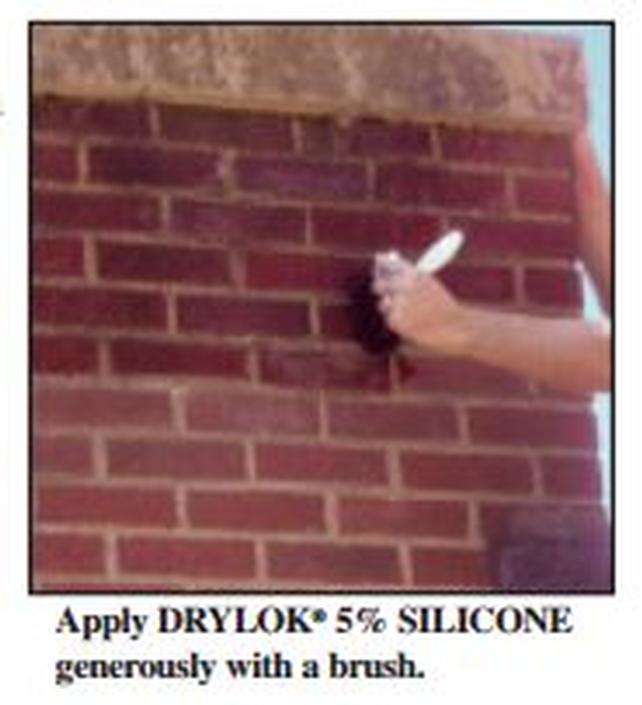 Drylok Brick Amp Masonry 5 Silicone Sealer 5 Gal