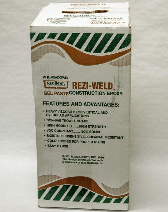 Rezi Weld Epoxy : Rezi weld gel paste oz