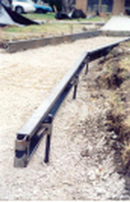 Sidewalk Form Steel 4