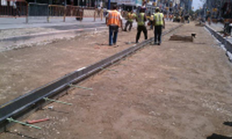 Sidewalk Form Steel 4 Quot X10