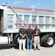 Pictured from left are Aggregate Delivery Professionals Tommy Kendall, Eduardo Morris and Tyrone Smith.