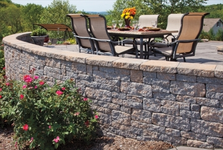 do it yourself retaining wall demo. Black Bedroom Furniture Sets. Home Design Ideas