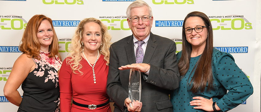 Bill Childs, Most Admired CEO, Daily Record