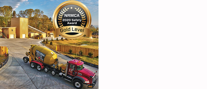 "Chaney Enterprises Earns Gold Level Achievement for NRCMA's ""Excellence in Safety Awards"""